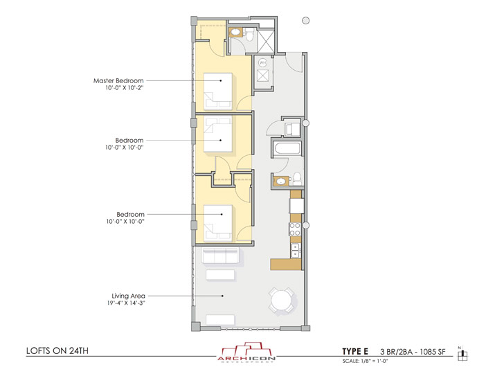 Type E Floor Plan